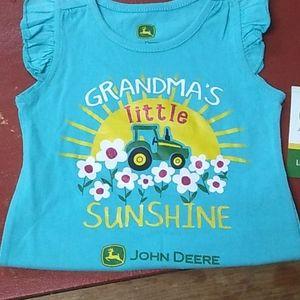 John Deere Shirts & Tops - John Deere Girls Shirt